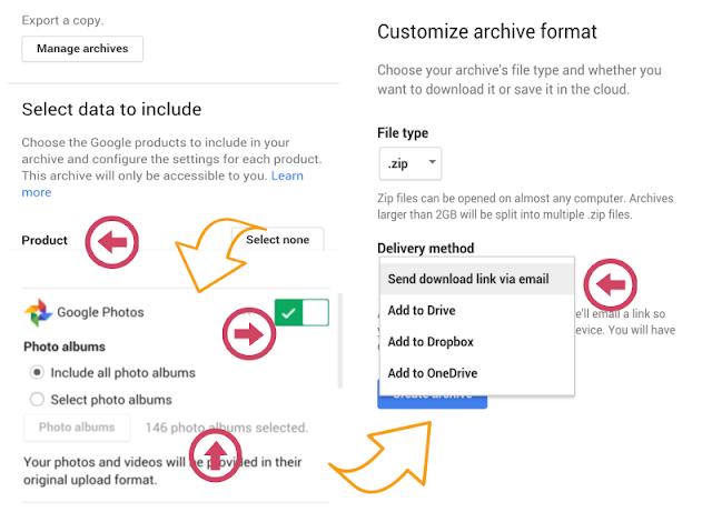 cara mudah back up data blog