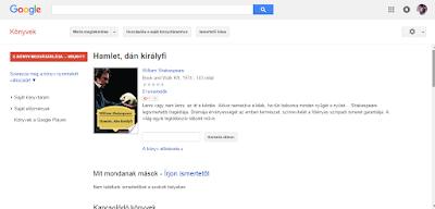 Google Books Információk