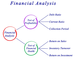 Infographics Chart showing Financial Analysis Procedure