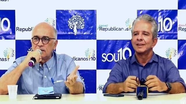 Ivanes Lacerda retira sua pré-candidatura e anuncia Nabor Wanderley como pré candidato a prefeito de Patos pelo republicanos