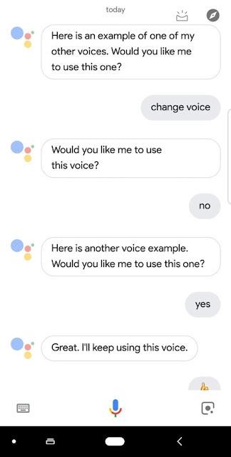 Cara Mengubah Suara Google Asisten  atau  Google Home menjadi Pria atau Wanita 2
