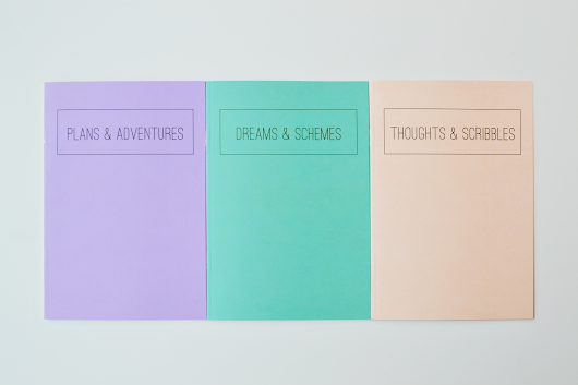 Gypsy Dreams: New In The Gypsy Dreams Shop | Jot It Down Notebook Series