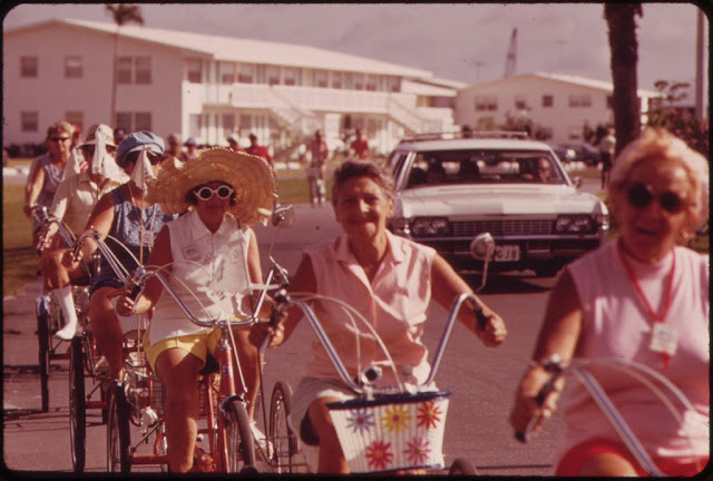 Tricycle Club of the Century Village Retirement Community (West Palm Beach)1960s. Speak Your Mind and other stories of Grandmas and reason. marchmatron.com