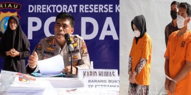 Kejahatan Perbank, Dua Pegawai Bank Riaukepri Ditangkap Polda Riau