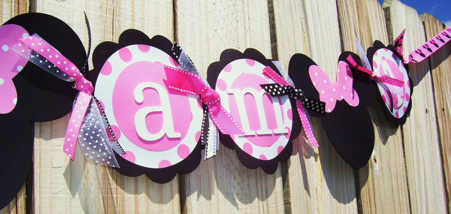 Ideas decoracion minnie mouse una mami creativa - Decoracion cumpleanos bebe ...