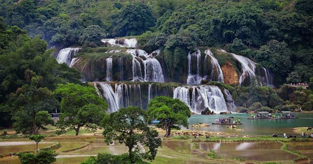 Cataratas de Ban Gioc Detian