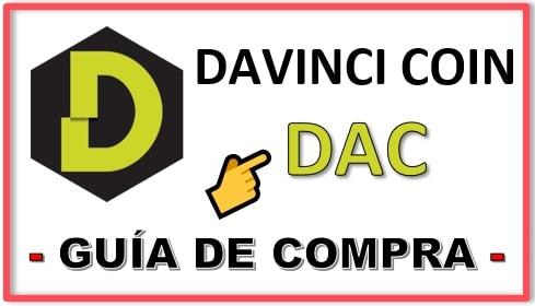 Cómo y Dónde Comprar DAVINCI COIN (DAC) Criptomoneda