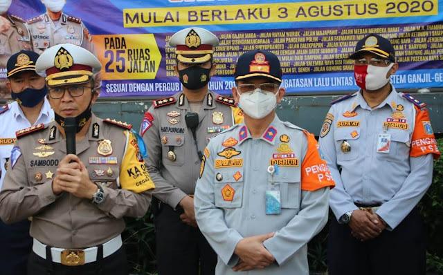 Pembatasan Mobil Pribadi, Ini 25 Jalan Areal Pemberlakuan Ganjil Genap di Jakarta