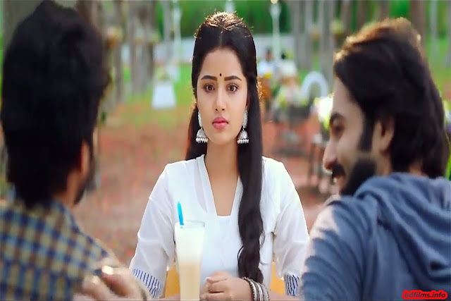 Vunnadhi Okate Zindagi is an Indian Telugu language coming of age drama film directed by Kishore Tirumala in 2017. The film is produced jointly by Sravanthi Ravi Kishore and Krishna Chaitanya under the production banner of Sravanthi Cinematics and PR Cinemas. The film is starred by Ram Pthineni, Anupama Parameswaran and Lavanya Tripathi in the lead roles and Sree Vishnu in another pivotal role. The film is released on 27th October, 2017.   The film is about the development and climax of six close friends' relationship. Abhi and Vasu are very close friends since childhood. But both of them are separated from one another for a beautiful woman Mahalakshmi (Anupama Parameswaran). Here is a great point. Vasu is a very sensitive man. Both of them, Abhi and Vasu love simultaneously Maha. But whom Maha will love or should love? It's a very critical time for Maha to choose her life partner. Vasu is a very good and caring person. On the other hand, Abhi is also good and handsome young boy. It is the critical time that one has to sacrifice here and Abhi does this for his friend. He sacrifices his love for his best friend Vasu. Sometimes, such time comes into human life that is either happy moment or sad moment. Two moments exist in mind of Abhi and Vasu. The story depicts the inseparable, separable and again inseparable relationships between two best friends for loving a beautiful girl. The film avers that friendship is the strongest thing in the world where love relation is nothing but formality. Two best friends become separated for four years. But the beautiful woman is died in a car accident. Vasu becomes lonelier. After four years, they all meet in a reunion. But this time, other friends don't want to make them separated from one another for another woman Maggi. Maggi replies she does not feel love of Vasu. She only loves Abhi. So, Abhi and Maggi are united by Vasu as he comes to know about Abhi in Maha's diary that she extremely loves Abhi. But as Abhi wants she should l