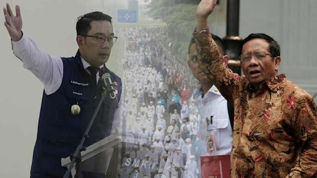 Ridwan Kamil: Kisruh Prokes Ini gegara Pak Mahfud MD, Dia Izinkan Jemput HRS ke Bandara