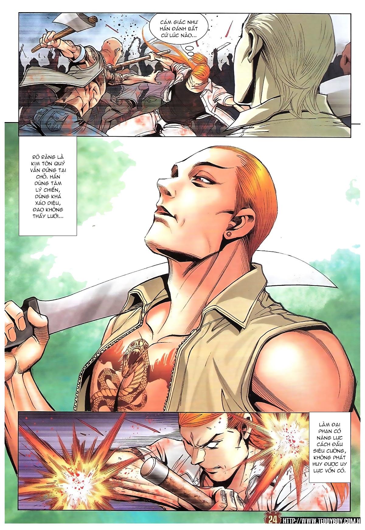 Người Trong Giang Hồ chapter 1834: kim mông không vs kim mông không trang 21