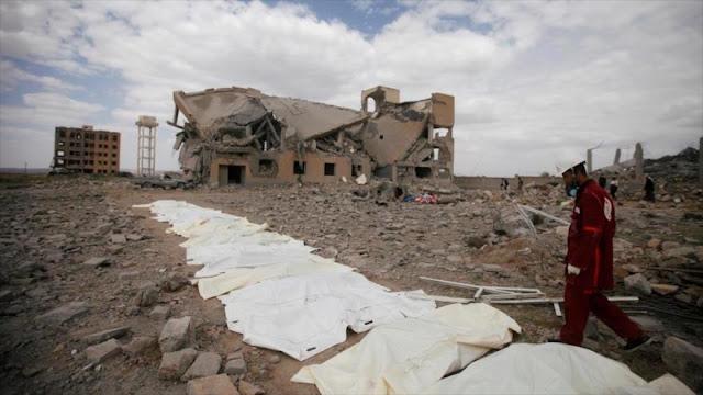 ONU condena mortífero ataque saudí contra un mercado yemení