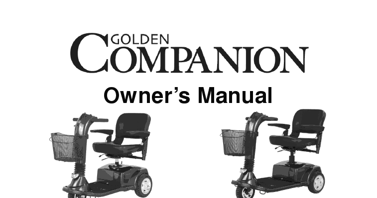 Companion Owner Manual | Owners and Service Manual Guide