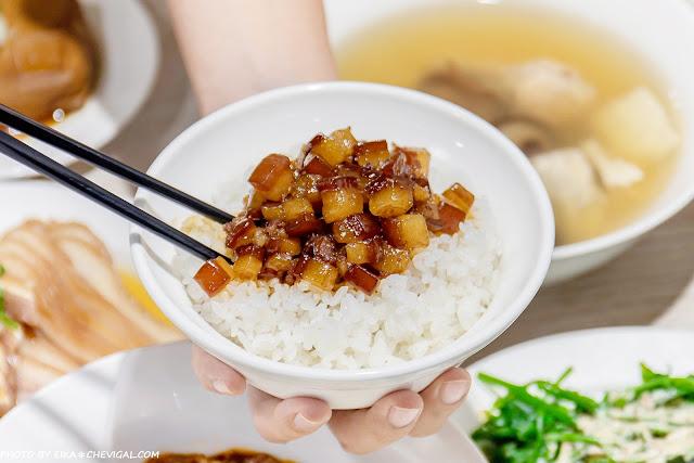 MG 5448 - 熱血採訪│玉堂春魯肉飯,台中魯肉飯的後起之秀,文青派台灣味小吃,還有老饕必點蔥油雞腿超誘人!