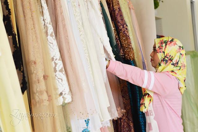 Suai Padan Busana Perkahwinan Butik Istana Puteh - Part I