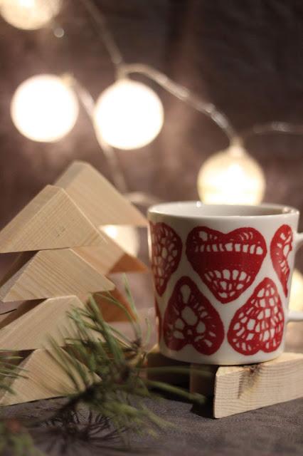 itse tehty joulukoriste