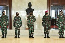 Wayan Ariwijaya Resmi Sandang Pangkat Brigjen TNI