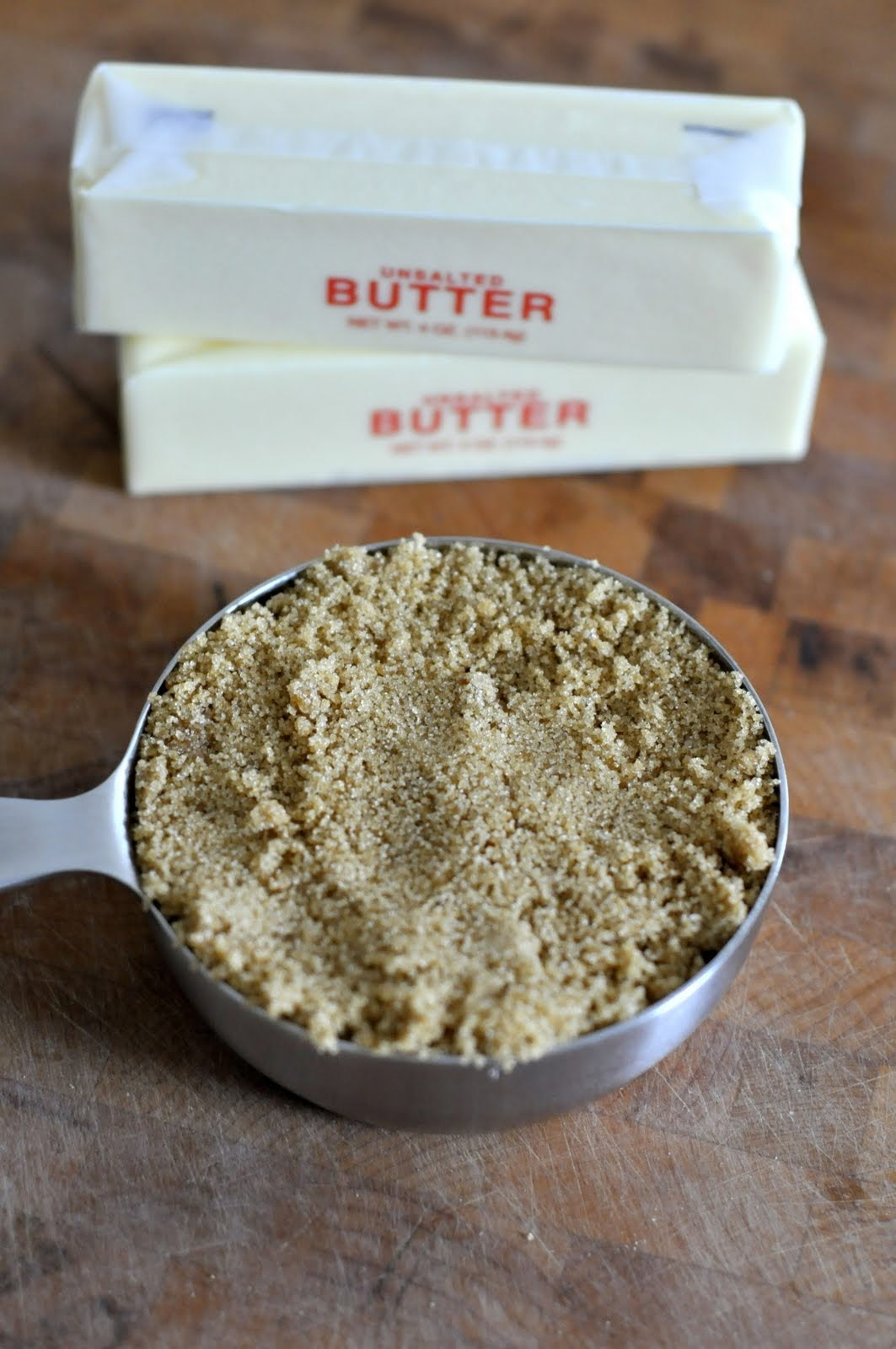Unsalted Butter and Brown Sugar | Taste As You Go