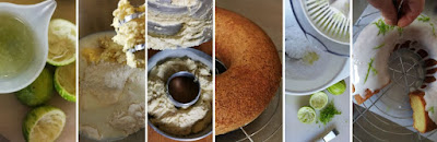 Zubereitung Limetten-Buttermilch-Kranz