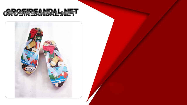 Sandal Karakter Pria GSJ - Pabrik Sandal Murah Dewasa 5.000