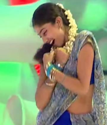 Sai Pallavi Hot Saree Pics in Premam