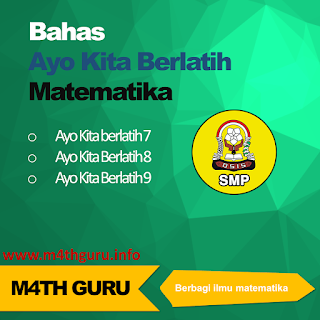 Soal dan Jawaban Ayo Kita Berlatih 4.1 PGL Matematika Kelas 8