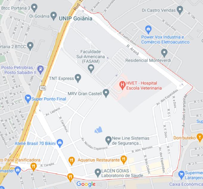 Mapa errado do Jardim da Luz