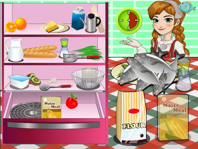 لعبة طبخ