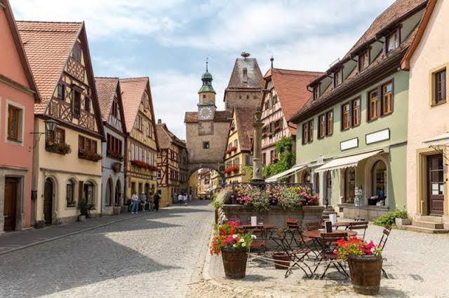 Pequena cidade de Rotemburgo