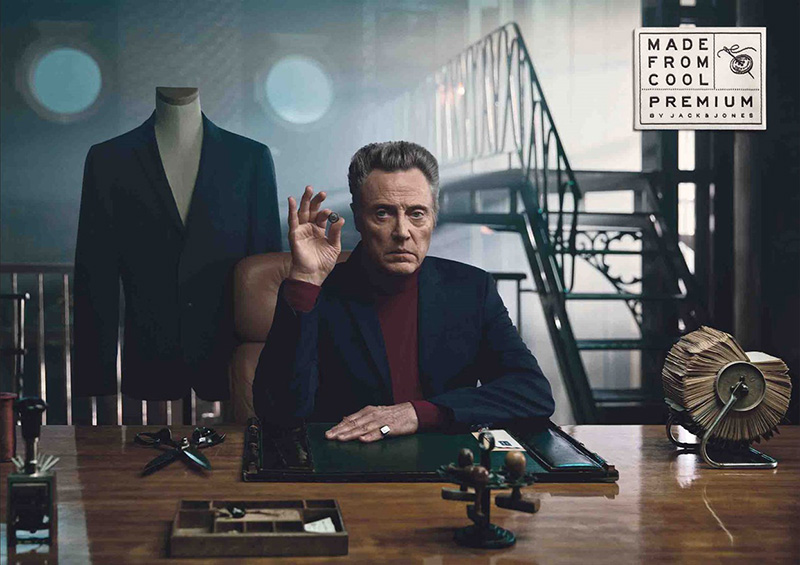 Christopher Walken Made From Cool