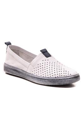 bayan hakiki deri babet ayakkabısı