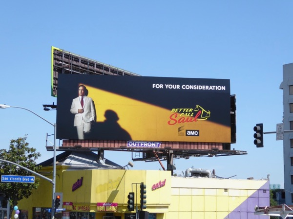 Better Call Saul season 3 Emmy noms billboard