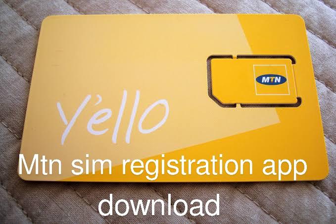Mtn sim registration app download image