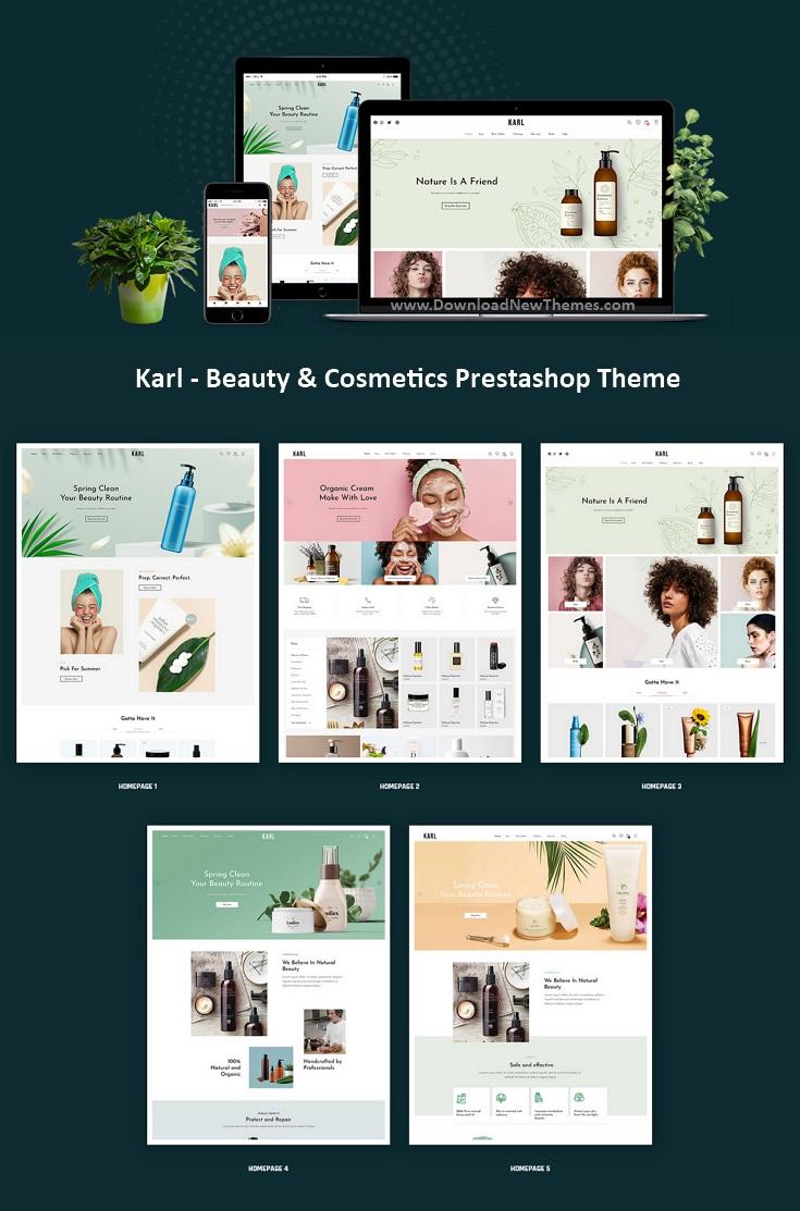 Beauty & Cosmetics Prestashop Theme
