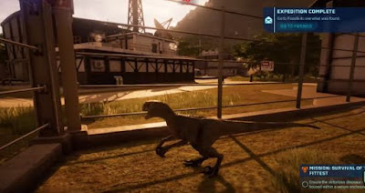 Stop Raptors Escaping, Jurassic World Evolution