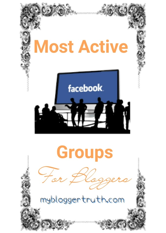 5 Most Active Facebook Groups for Bloggers