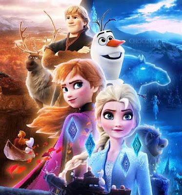 Formasi lengkap Film Frozen 2