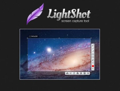 cara screenshot di laptop komputer dengan lightshot screenshot