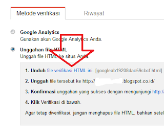 4 Cara Alternatif Lain Verifikasi Blog Ke Google Webmaster