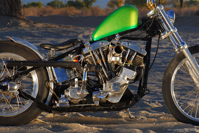 Harley Davidson Shovelhead 1972 By Cro Customs Hell Kustom