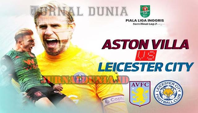 Prediksi Aston Villa vs Leicester City  , Minggu 21 Februari 2021 Pukul 21.00 WIB @Mola TV