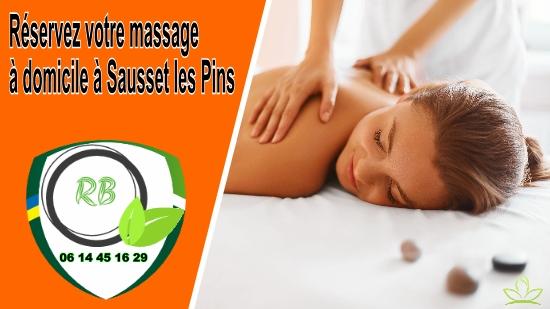 Réservez votre massage à domicile à Sausset les Pins;