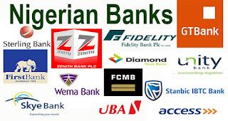 Nigerian Banks transfer code