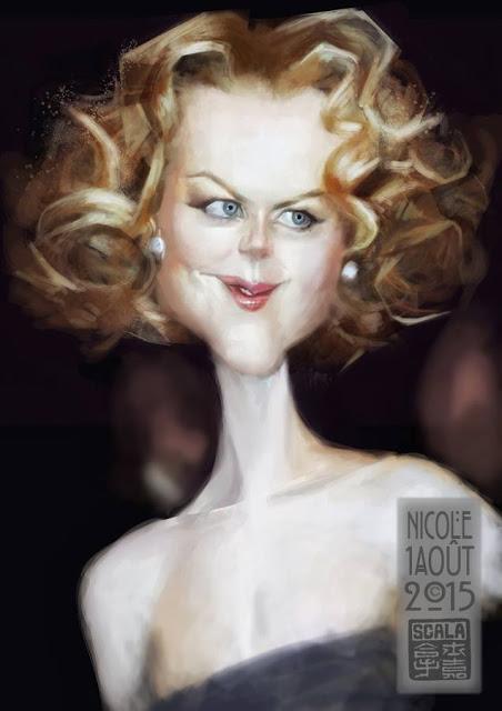 """""""Nicole Kidman"""" por Eric Scala"""