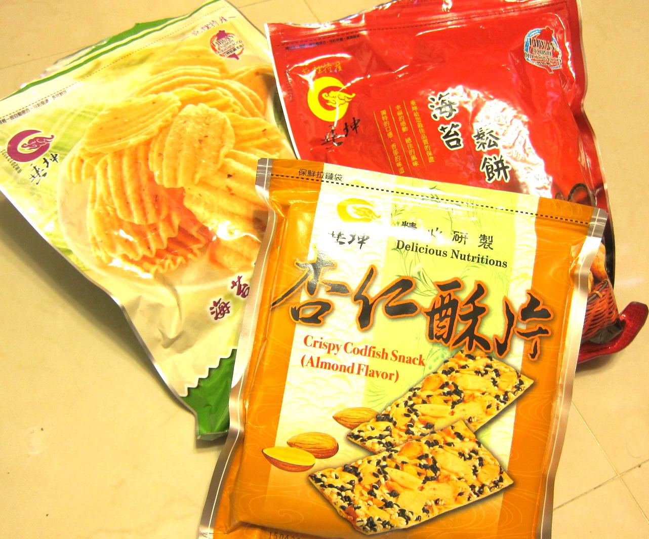 福 臨 門: 零食系列-垂坤古早味零食