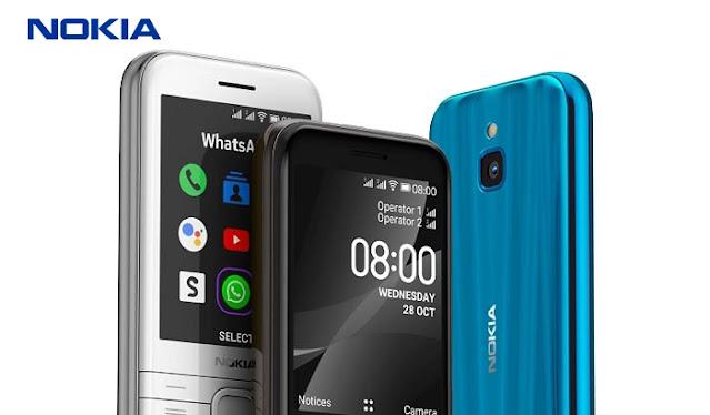 سعر نوكيا 8000 الجيل الرابع - مواصفات Nokia 8000 4G