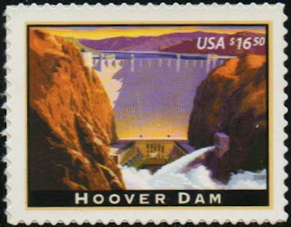 US 4269 Express Mail Hoover Dam