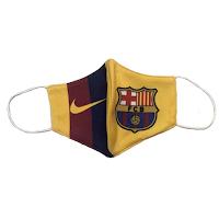 Mascarillas de fútbol barcelona
