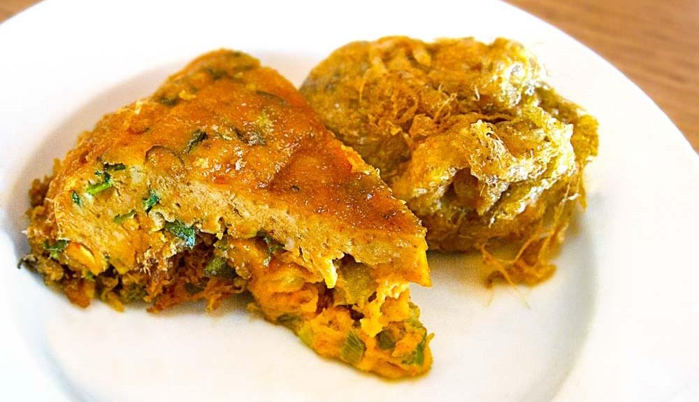 Resep Telur Dadar Padang, tebal dan gurih