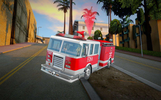 GTA San Andreas Call The Fire Department Mod 2021